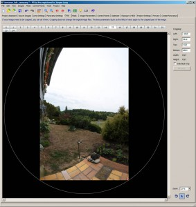 full frame Projektion bei Crop-Kamera mit Fischaugenobjektiv Samyang/Walimex Pro 8 mm/f3.5