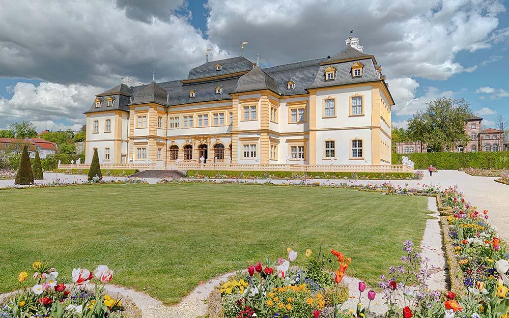 Schloss Veitshöchheim und Schlossgarten