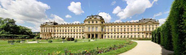 Panoramafoto der Würzburger Residenz